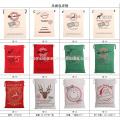 Großhandelsweihnachtstasche Feiertags-Ren-Taschen Ursprüngliche Sankt-Sackweihnachtspersonalisierte Geschenktaschen