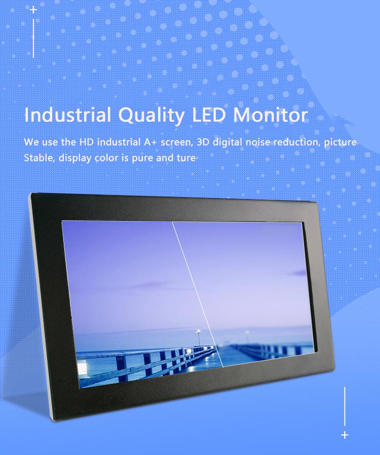 Rugged monitor capacitive