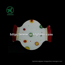 Single Wall Color Glass Plate by SGS (KLP120912-55)