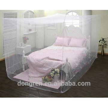 Insecticida rectangular 100% poliéster tratado con mosquitero cuadrado