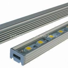Новая жесткая светодиодная линейка с регулируемой яркостью 14,4 Вт 60 5050 SMD 1 м