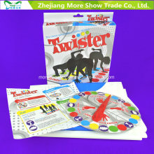 New Classic Twister Game Família Jogo de tabuleiro Brinquedo educativo Diversão Favores de festa