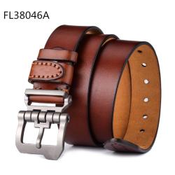 Casual fashion men's belt alloy pin buckle belt