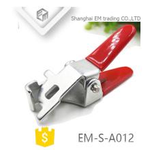EM-S-A012 Peças de estampagem galvanizadas Chave de cabeça única para válvula de bloqueio