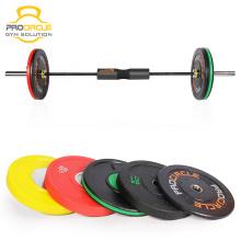 2018 Wettbewerb Cross Fitness Gewichtheben Bumper Plates