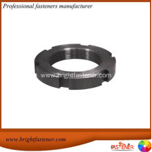 DIN1804 Carbon Steel Round Slotted Lock Nuts