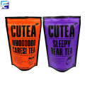Ziplock coffee sachet Stand up pouch for tea