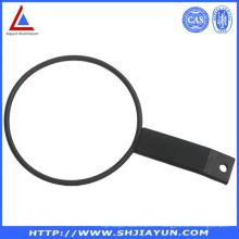 Profilé de parenthèse d'alliage d'aluminium de pièces en aluminium