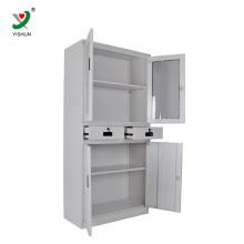 Дешевая мебель КД офисный шкаф нержавеющей стали шкафа хранения металла продажа шкафов