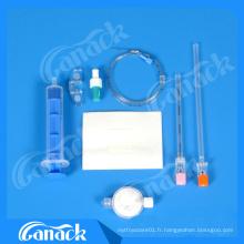 Kit d'anesthésie combiné épidural-spinal jetable