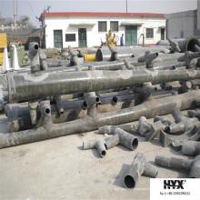 Tube époxy fabriqué par FRP pour résister à l'érosion des fumées et des liquides avec du soufre ou de la fluorine