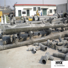 Epoxy Pipe Made by FRP to Resist Erosion From The Fume and Liquid with Sulfur or Fluorin