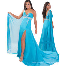 One Shoulder Sweetheart Pageant Dress for Beauty Pageant Party Dress with Sash RO11-03