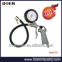 Hot Sale Air Tire Inflating Gun with pressure gauge