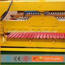 Placa de acero ligero galvanizado corrugado laminado en frío de azulejos de azulejos de fabricación de rollo de formación de maquinaria