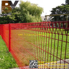 Powder Coated Roll Top Fence