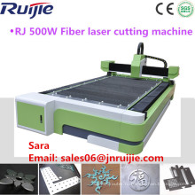 Китай Цзинань Производитель 500W Станок для лазерной резки волокна