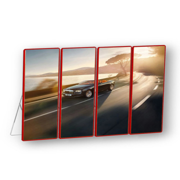 Voorste serviceposter LED-display