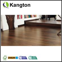 Piso de madera laminada de la superficie plana de la nuez (suelo de madera laminado)