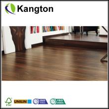 Piso de madeira laminado de superfície de nogueira plana (piso laminado de madeira)