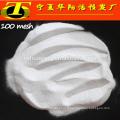 Sablage au jet d'oxyde d'aluminium blanc