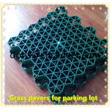 Green Parking Lot Plastic Grass Paver