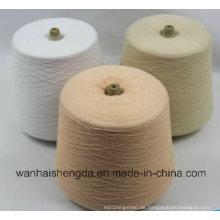 Strickgarn aus Baumwolle und Polyester