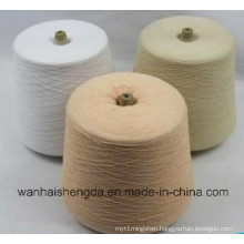 Knitting Cotton and Polyester Blended Functional Yarn