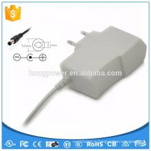 Белый адаптер ac dc 12v 1a led