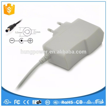 Weißer Adapter ac dc 12v 1a led