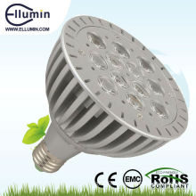 12w led par light e27 cool white light