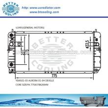 Radiateur d'eau pour General Motors DeVille 01-04 OEM: 52480470