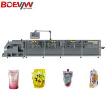 Máquina envasadora de líquidos horizontal Doypack