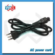 3 штырьковый кабель питания 10a / 250v 2-штекерный с разъемом