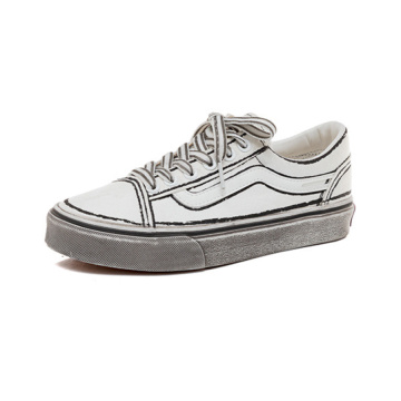 Low-Top-Canvas-Schuhe für Damen