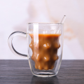 amazon hot sale coffee double wall glass cup