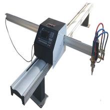Máquina de corte portátil da chama do plasma do CNC da eficiência elevada
