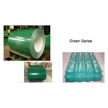 Предварительно окрашенная стальная катушка Gi / PPGI / PPGL Цветной оцинкованный стальной лист