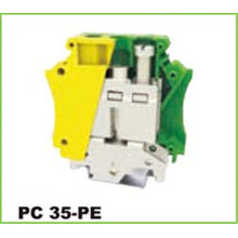 Ground Screw Din rail mounting Electric Connector