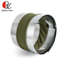 Connecteur flexible de conduit de revêtement en PVC CVC