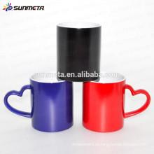 Taza mágica cambiante del color, taza al por mayor de la sublimación