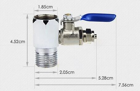 ball valve adapter set