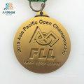 China Wholesale Alloy Deboss Fll Gold Custom Challenge Medal