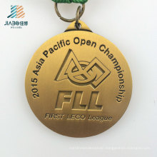 China Wholesale Alloy Deboss Fll Gold Custom Challenge Medal