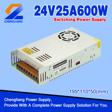 24V 25A 600W LED Switching Power Supply
