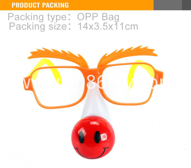 Toy With Light Plastic Children's Glasses1