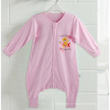 Material de algodão 100% saco de dormir do bebê