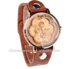Wholesale Leather Watch Japan Quartz Movt Lady watch WL-064