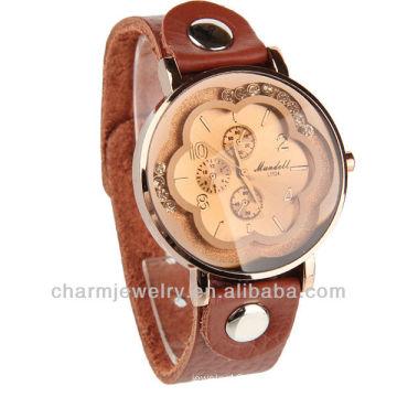 Wholesale Leather Watch Japan Quartz Movt Lady watch WL-064