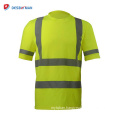 The new funny cheap customized ansi class 2 100% polyester safety t-shirt